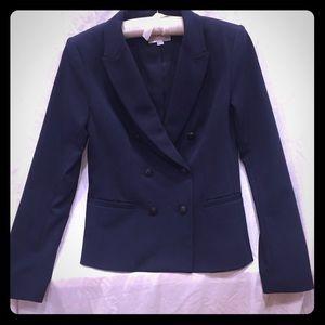 Ann Taylor Loft navy blazer
